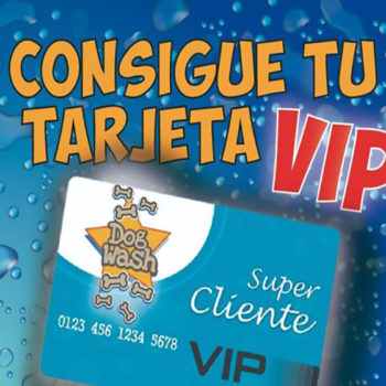 TARJETA VIP DOG WASH CORUÑA